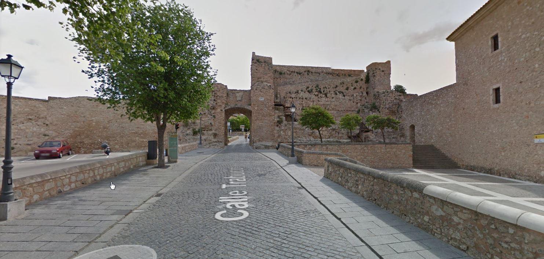 subida a barrio de el castillo para aparcar sin pagar en apartamento turistico cuenca ciudad
